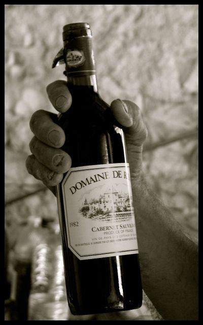 1982 Cabernet Wine Bottle - Burgundy France