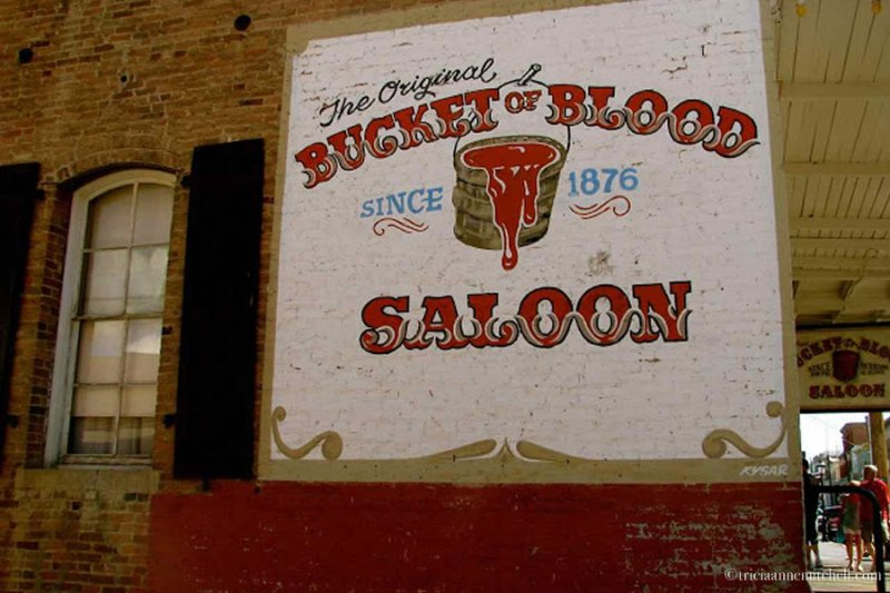 Bucket of Blood Saloon Virginia City Nevada