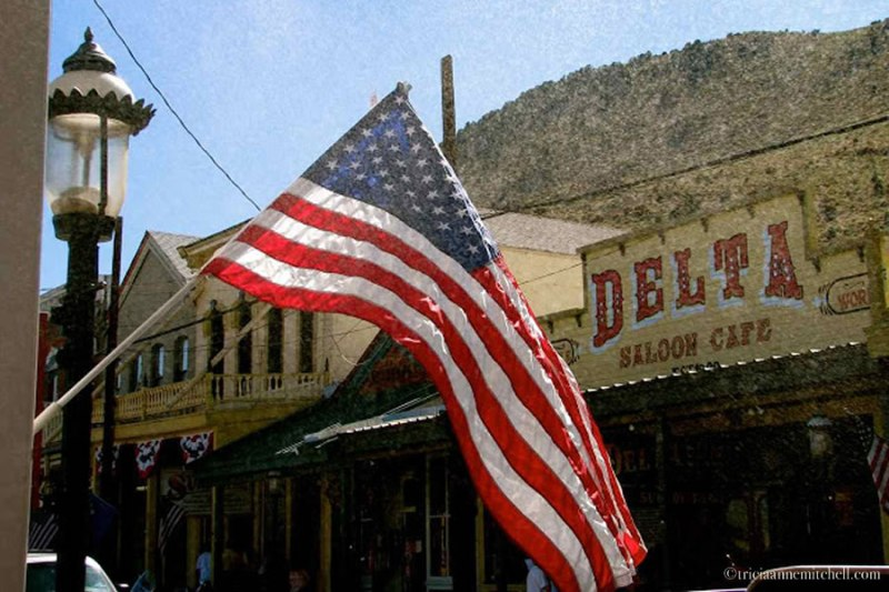Delta Saloon Cafe Virginia City Nevada Day trip