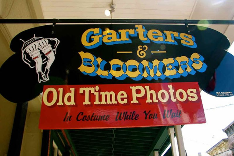 Garters and Bloomers Old Time Photos Virginia City