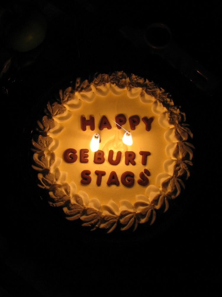 Happy Birthday Geburtstag Cake