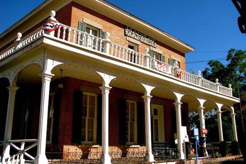 Mackay Mansion Virginia City Nevada