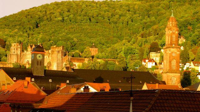 Schloss Panorama - Heidelberg