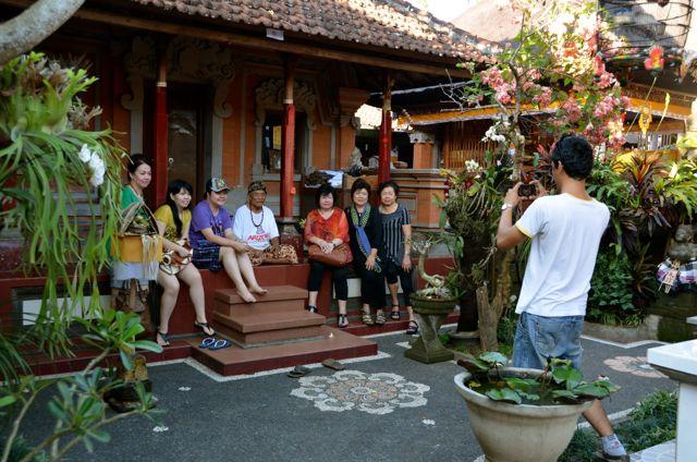 Eat Pray Love - Guru Ketut Liyer's home courtyard