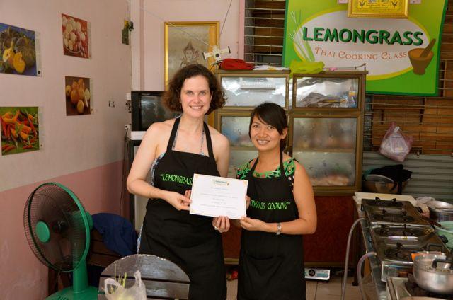 Thai Cooking School Certificate