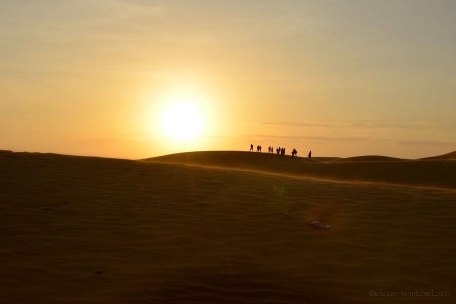 Mui Ne Sand Dunes sunset visit