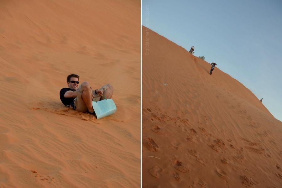 sandsledding Vietnam Mui Ne
