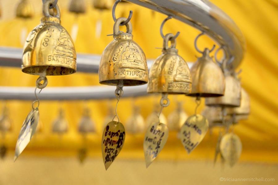 Bangkok Golden Mount prayer bells
