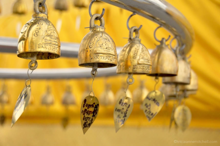 Bangkok Golden Mount prayer bells