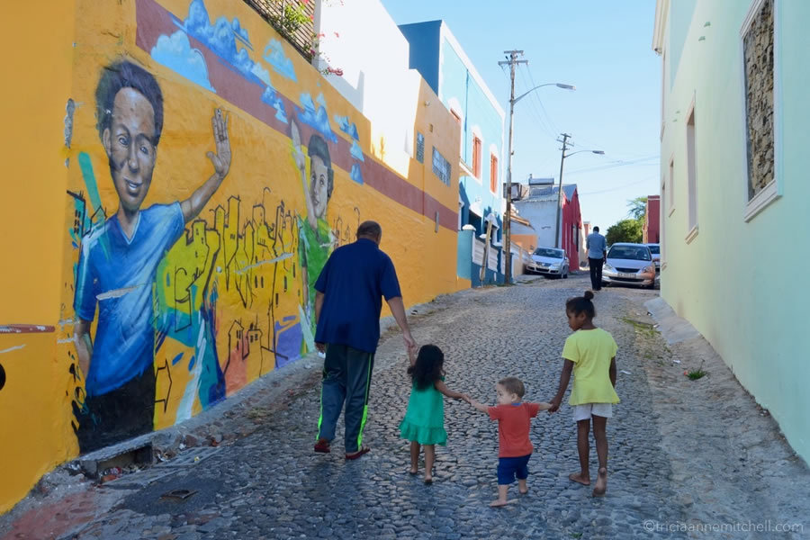 Bo-Kaap street art Cape Town South Africa