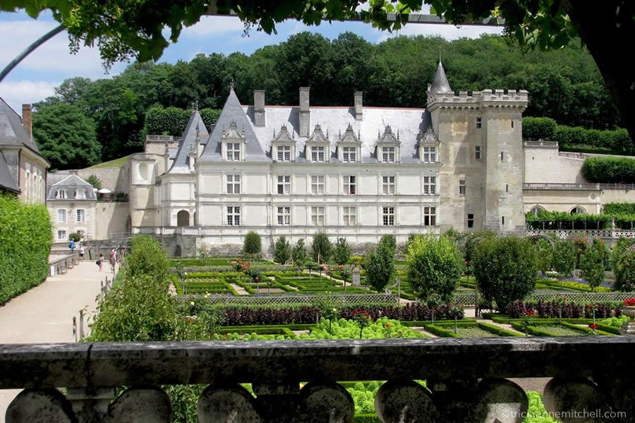 Chateau Villandry Loire Valley France
