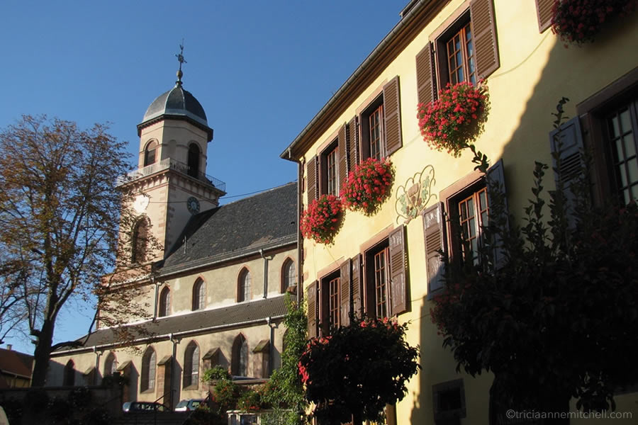 Saint Hippolyte Church Alsace France