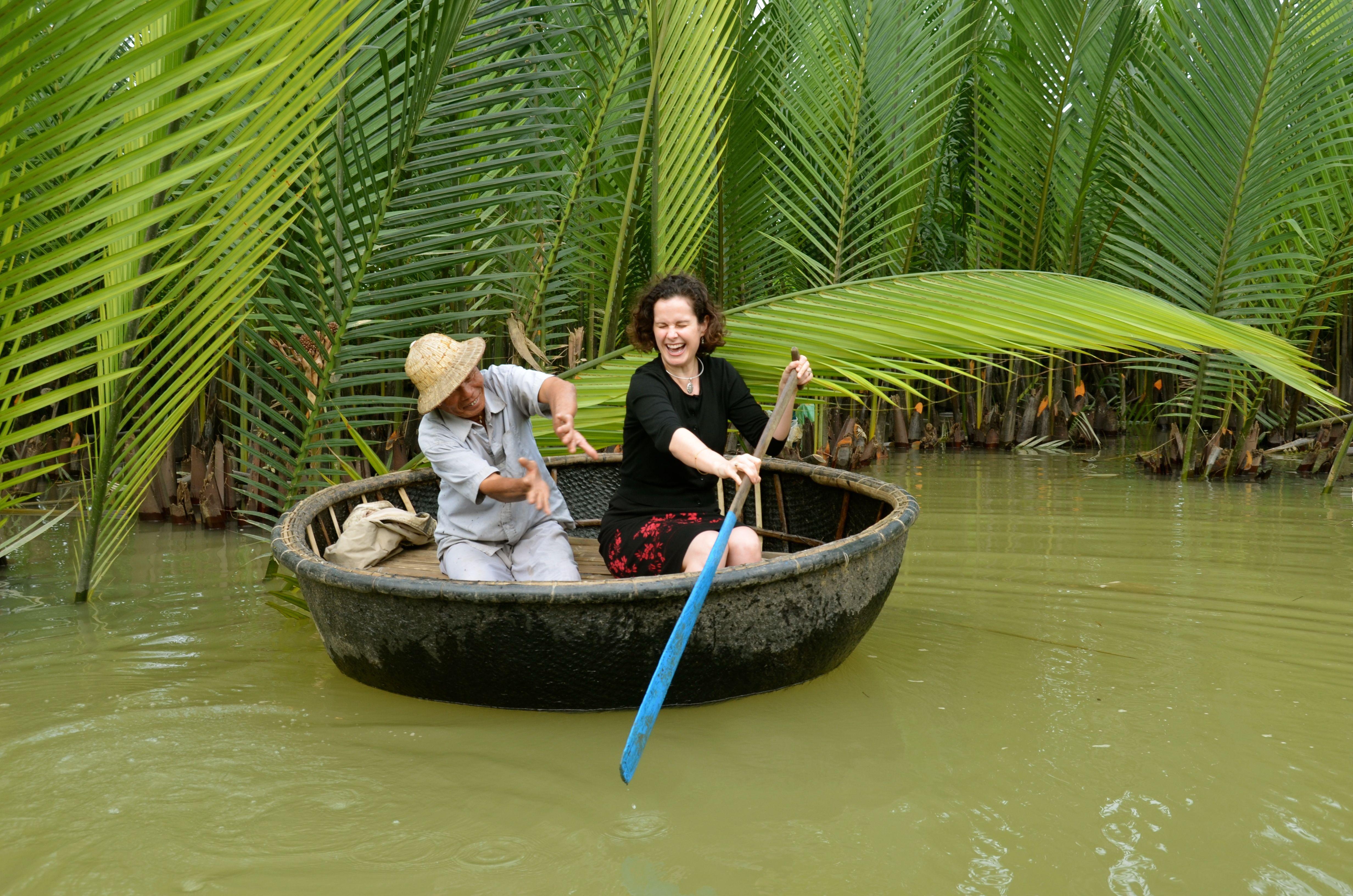 Basket Boats, Chinese Fishing Nets & Non La Hats: A Thu Bon River Boat Ride From Hoi An, Vietnam