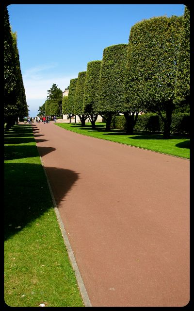 Normandy American Military Cemetery photograph by Tricia Mitchell