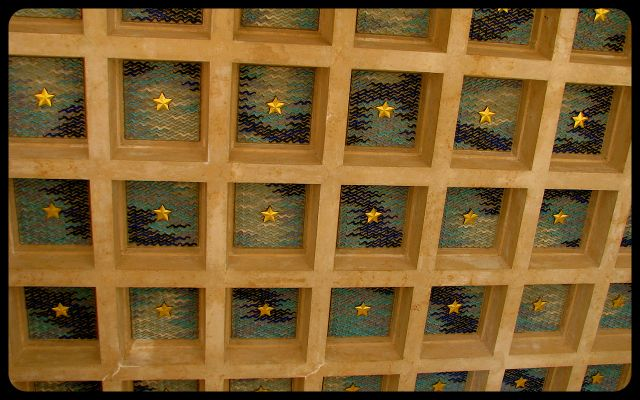 American Military Cemetery in Normandy Ceiling Detail photograph by Tricia Mitchell