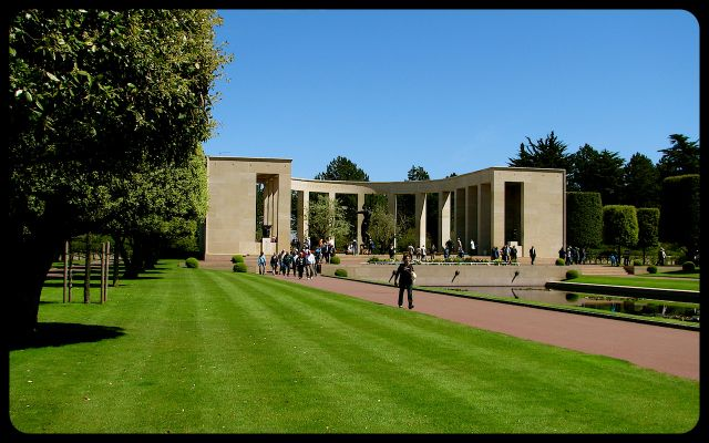 American Military Cemetery in Normandy France photograph by Tricia Mitchell