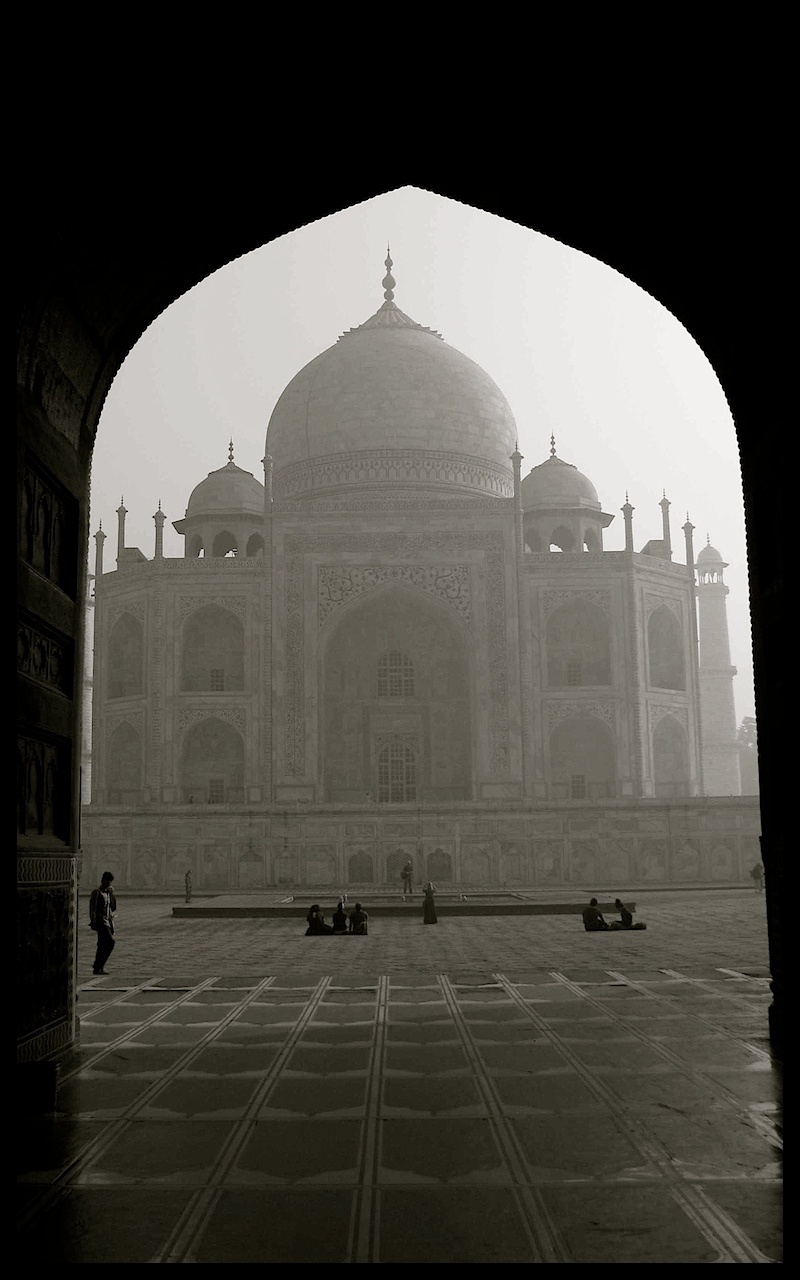 Taj Mahal photography by Tricia Mitchell