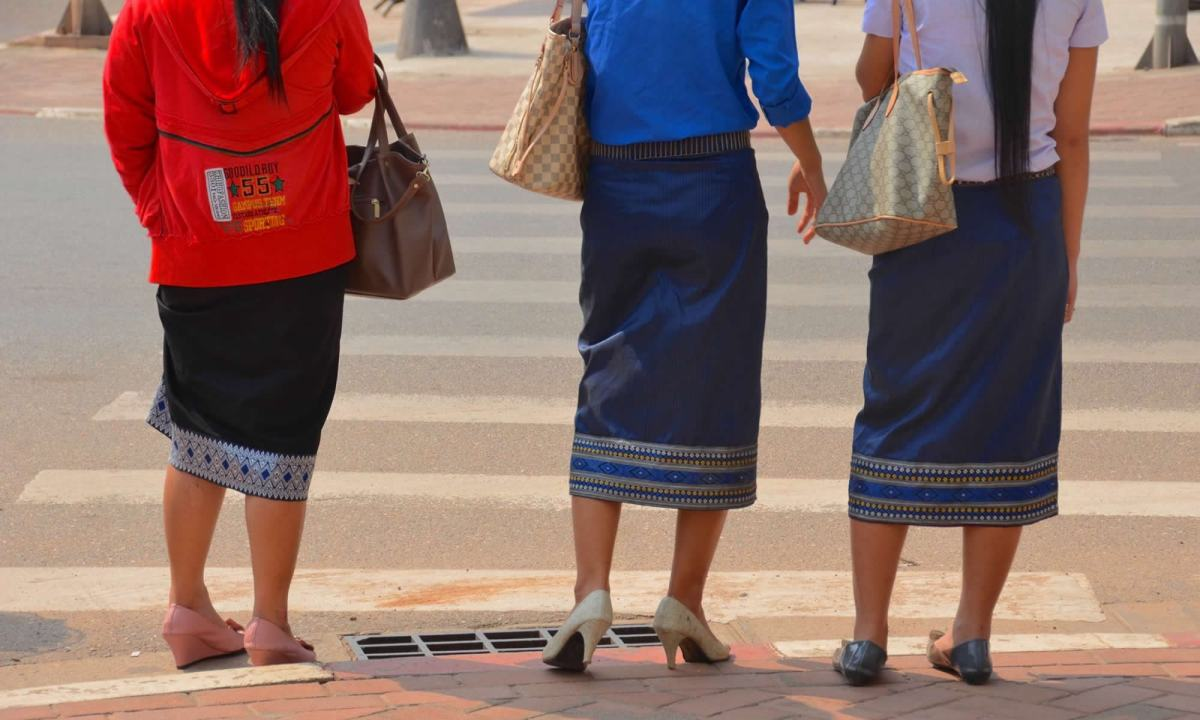The Ubiquitous Laotian Sinh, or Skirt | Travels with Tricia