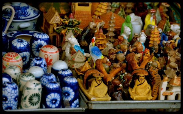 Knick knacks for sale in Hoi An, Vietnam