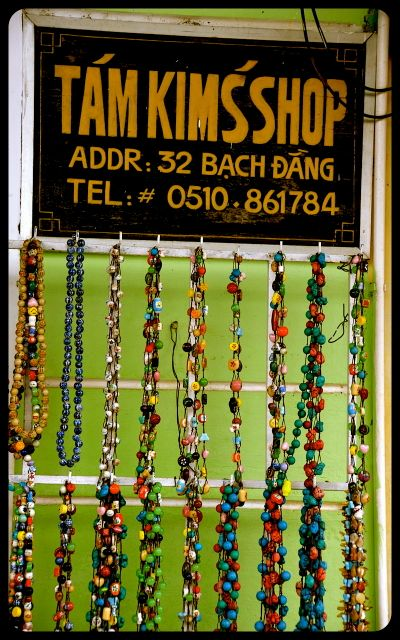 Necklaces for sale in Hoi An Vietnam