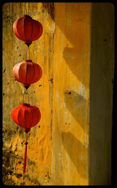 Red Lanterns in Hoi An, Vietnam