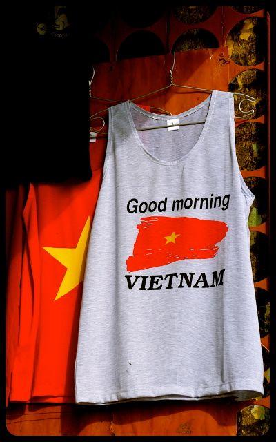 Good Morning Vietnam shirt for sale in Hoi An