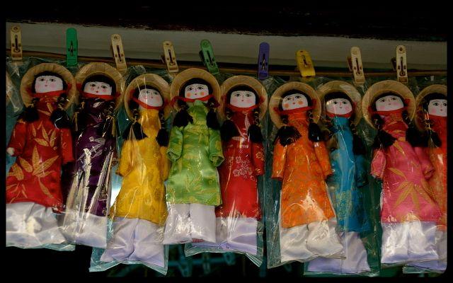 Dolls for sale in Vietnam