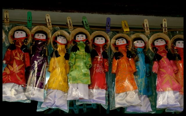 Dolls for sale in Vietnam