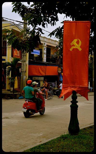 Motorbike riding in Hoi An Vietnam