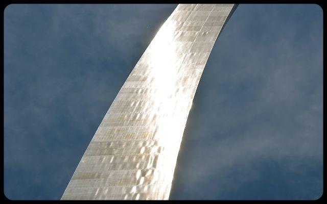 St. Louis Arch Close Up