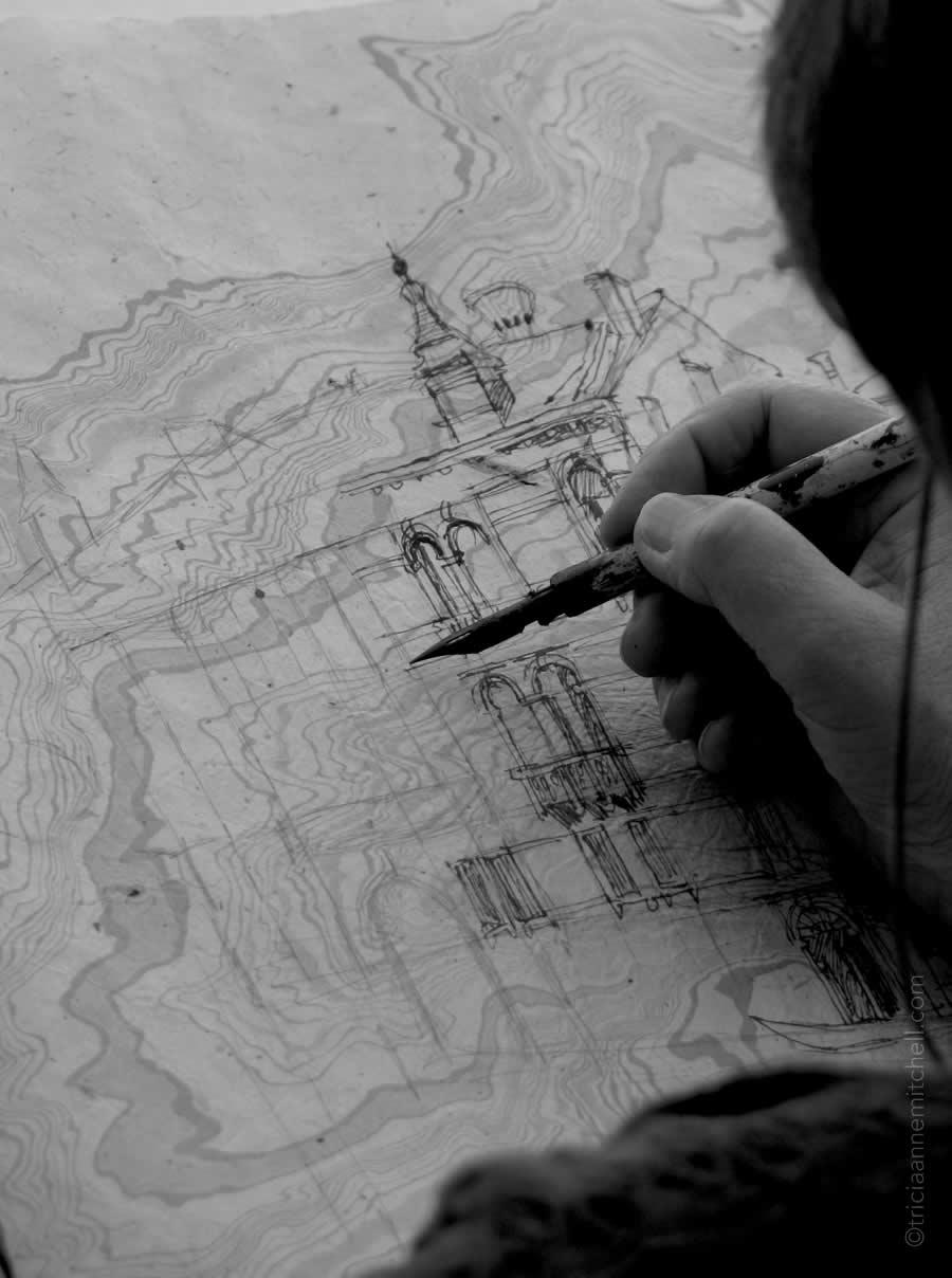 Artist Sketch Venice