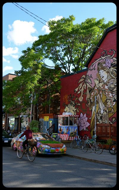 Kensington Toronto Streetscape