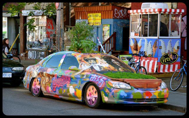 Garden Car in Kensington, Toronto