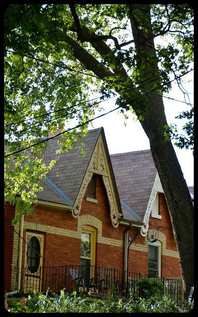Victorian Architecture in Kensington, Toronto