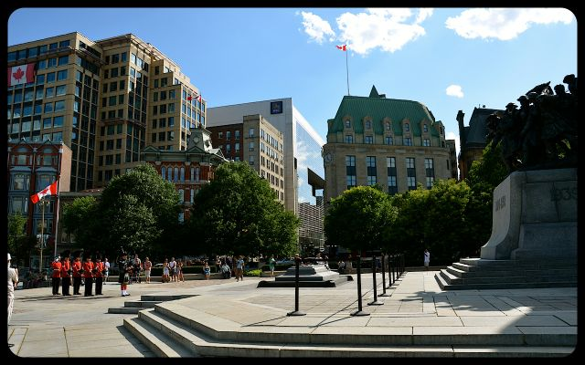 Tomb of the Unknown Soldier in Ottawa