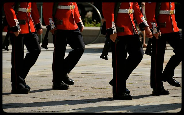 Tomb of the Unknown Soldier Honor Guard in Ottawa