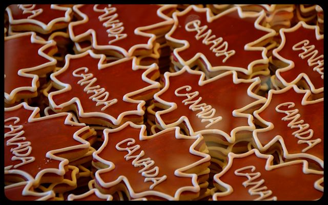 Canada Maple Leaf Cookies for Sale in Toronto