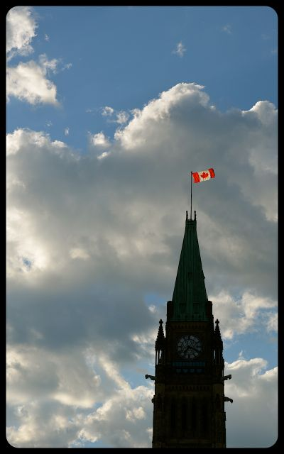 Canada's Parliament Building in Ottawa
