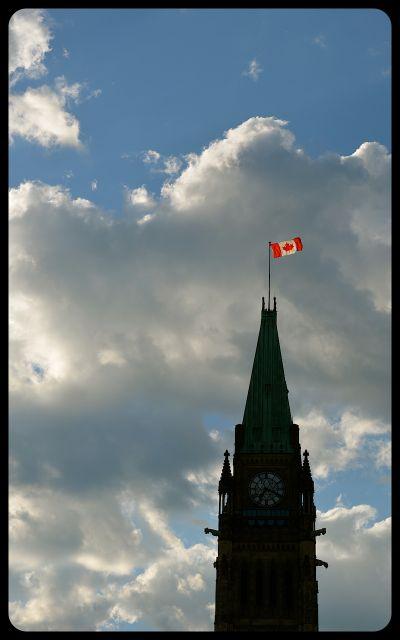 Canada's Parliament Building in Ottawa