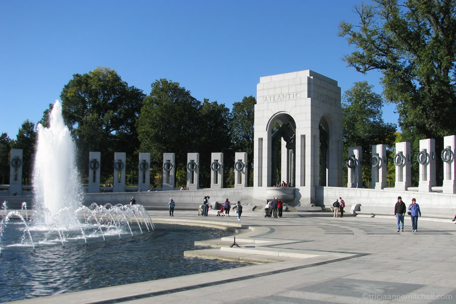 National World War Two Memorial Washington DC