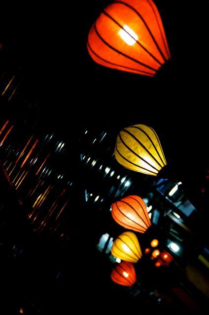 Lanterns in Hoi An Vietnam