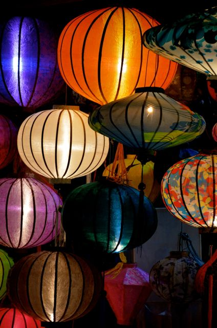 Lanterns for sale in a Hoi An, Vietnam shop.