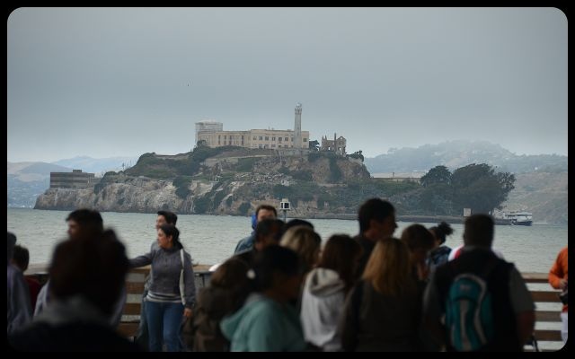 Alcatraz from Pier 39 San Francisco
