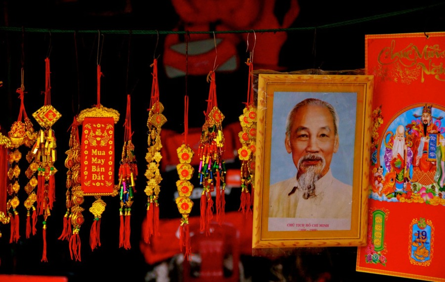 Mitchell, Tricia Hoi An Market RED Vietnam Capture the Color
