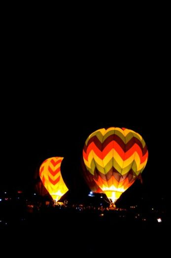 Reno Dawn Patrol hot air balloons