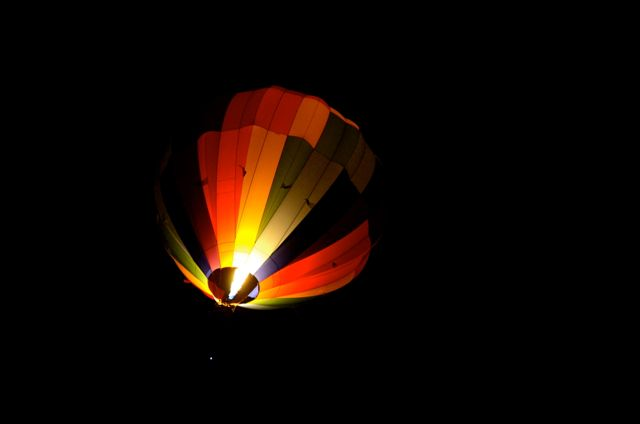 Reno dawn patrol hot air balloon races