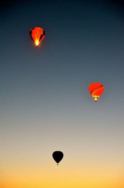 Reno hot air balloon races dawn patrol
