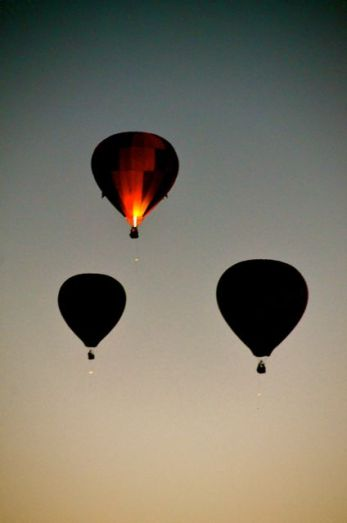 Reno hot air balloon races dawn patrol