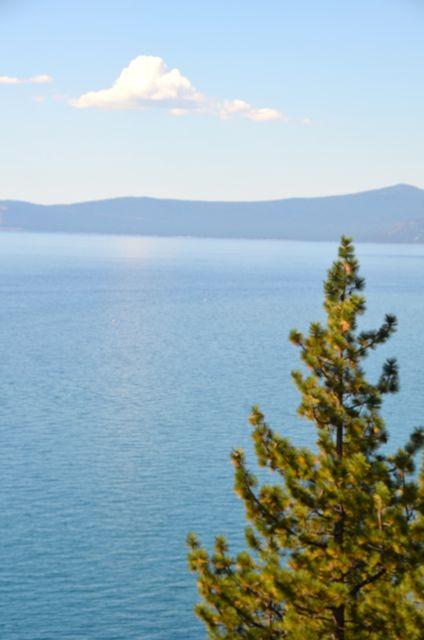 Cloud over Tahoe