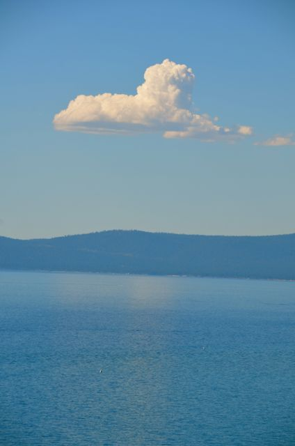 Cloud over Tahoe